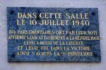 10 juillet 1940: vote des pouvoirs constituants à Pétain. Détail du vote des députés et sénateurs des Basses-Pyrénées.