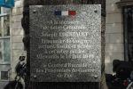 Un patriote pendu place Clémenceau