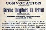 Mise en place du Service du Travail Obligatoire. Instructions départementales: répression des « défaillants ».