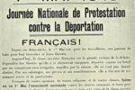"""1er mai 1943. Le  P.C.F lance un appel à """"un premier mai de combat""""."""