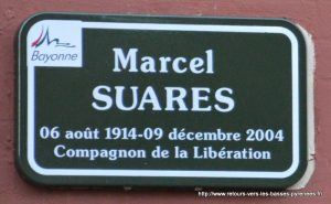 plaque rue